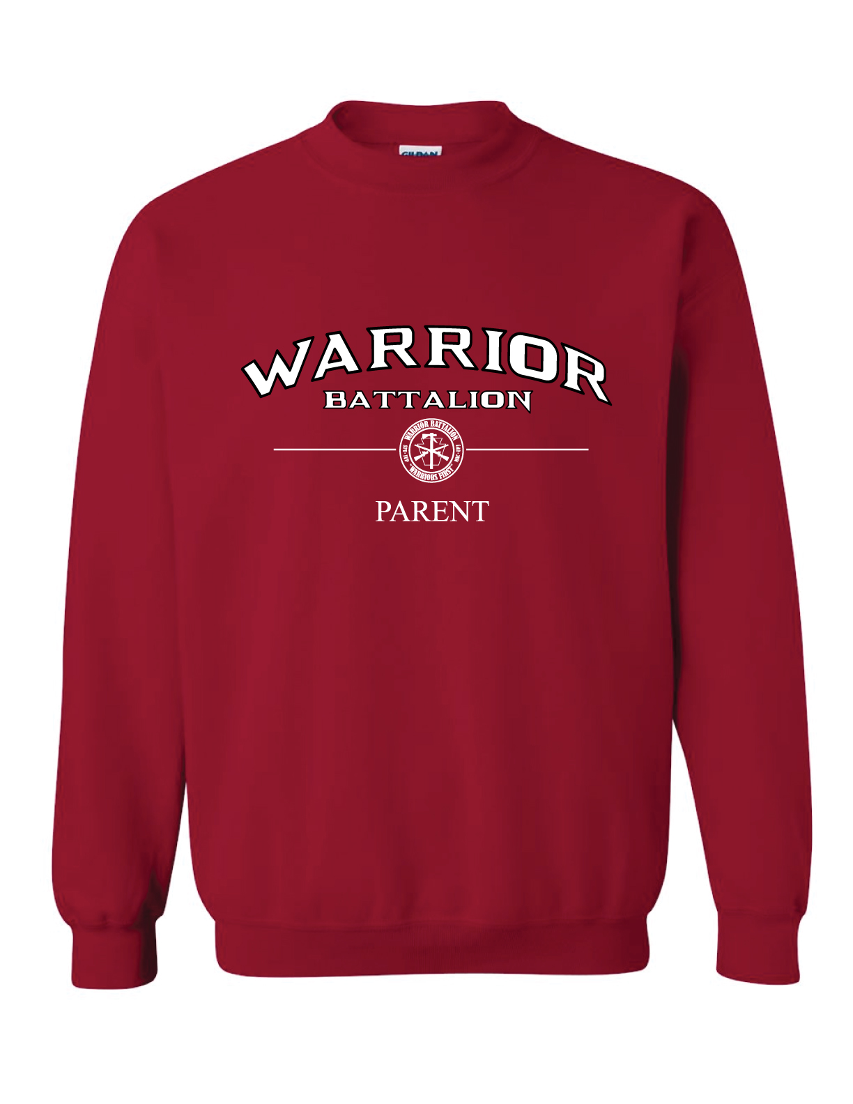 ***Clearance Sale***Crewneck, Cardinal Red (Parent)