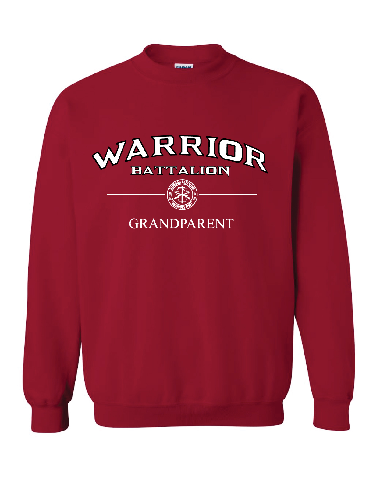 ***Clearance Sale*** Crewneck, Cardinal Red (Grandparent)