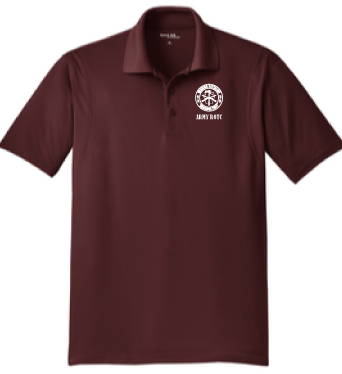 Polo Shirt, Burgundy