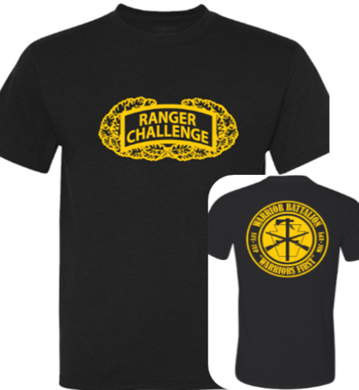 Physical Fitness Shirt, Ranger Challenge (Competitor)