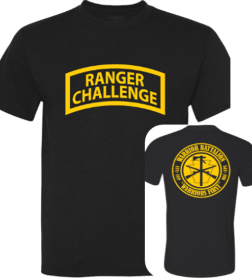Physical Fitness Shirt, Ranger Challenge
